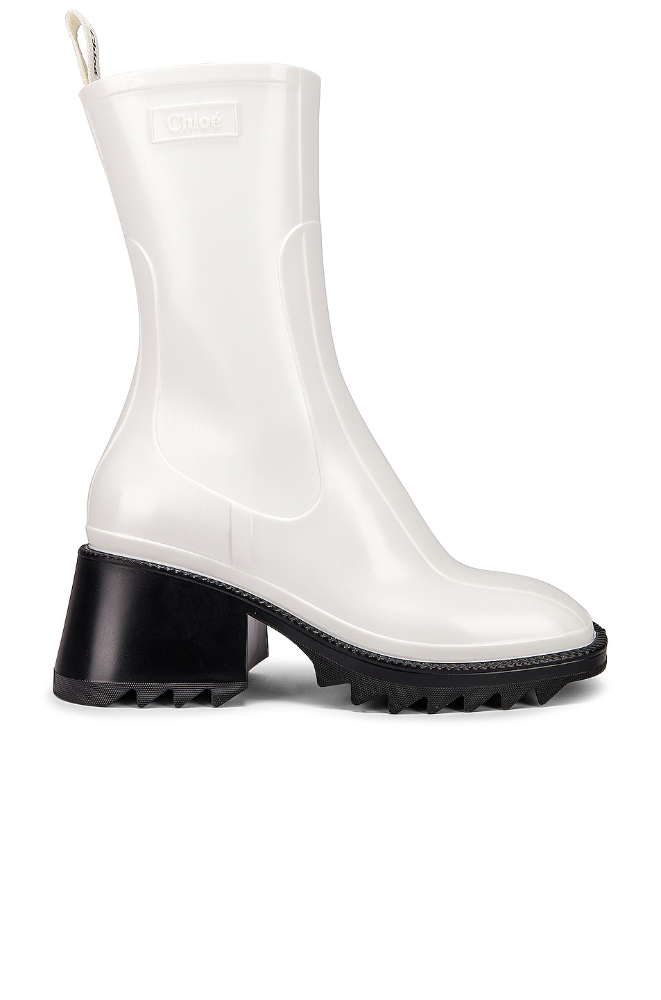 Image 1 of Chloe Betty Boots in White