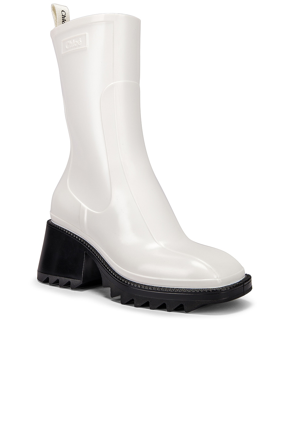 Image 2 of Chloe Betty Boots in White
