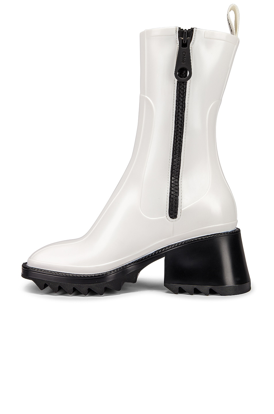 Image 4 of Chloe Betty Boots in White
