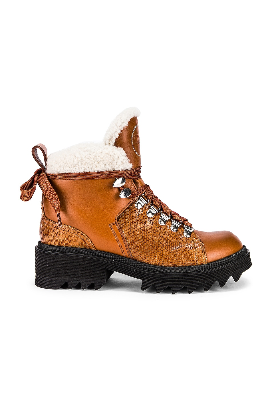 Image 1 of Chloe Bella Shearling Boots in Canyon Brown