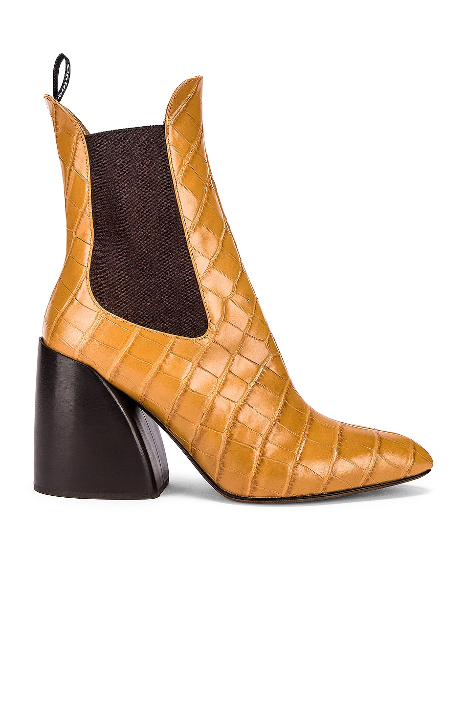 Image 1 of Chloe Wave Boots in Autumnal Brown
