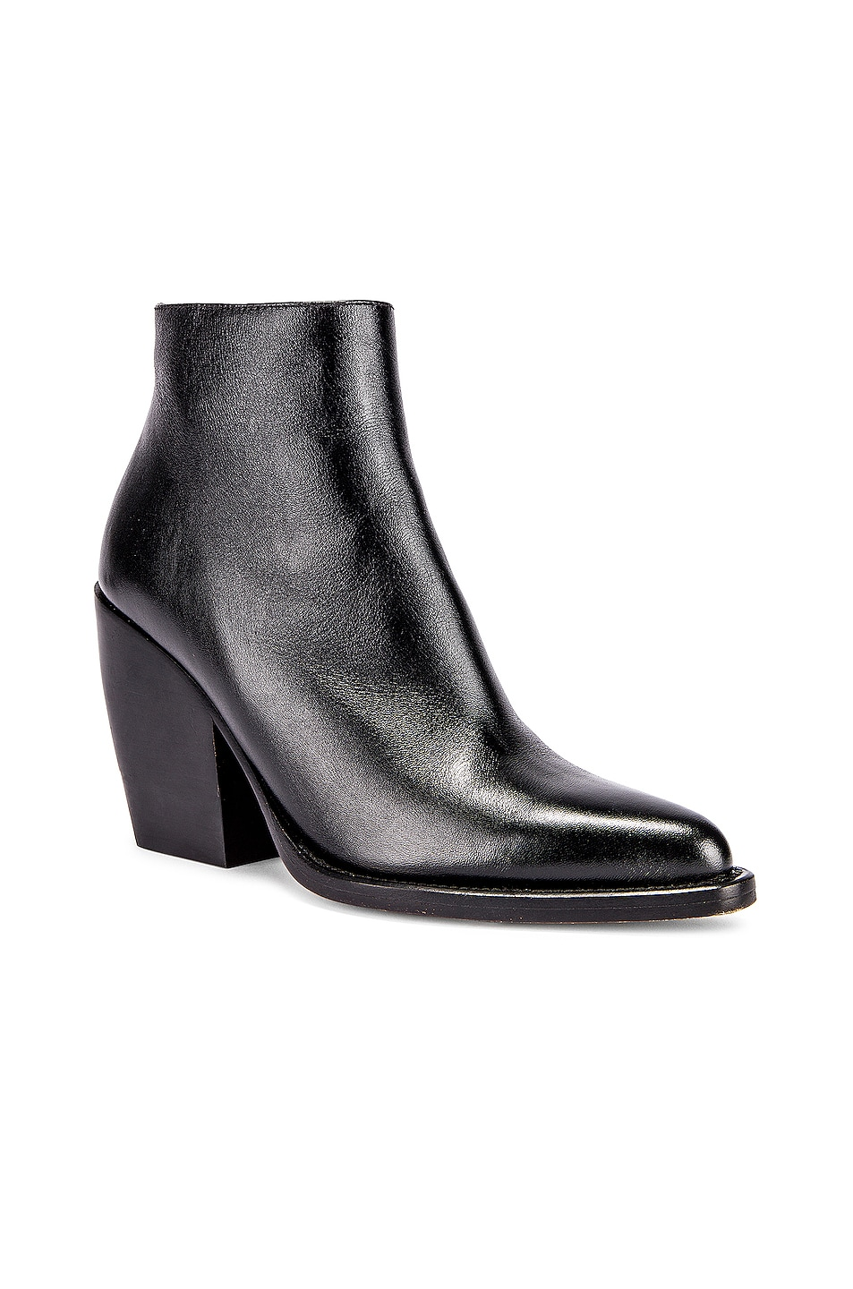 Image 2 of Chloe Rylee Ankle Boots in Black