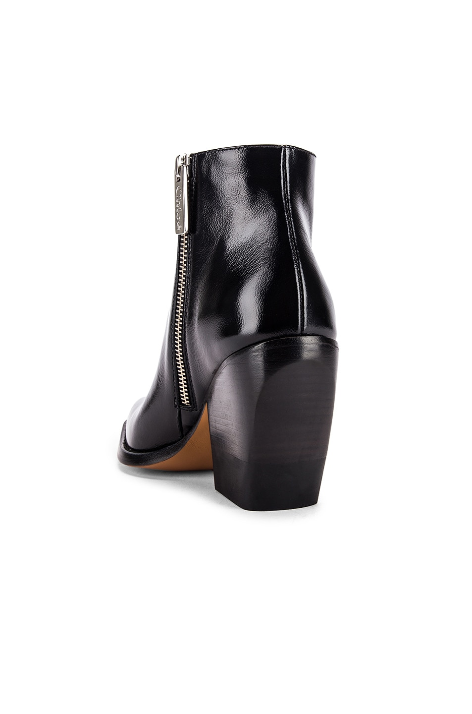 Image 3 of Chloe Rylee Ankle Boots in Black