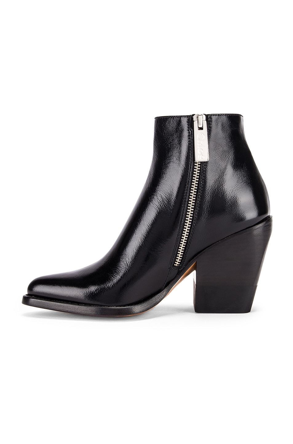 Image 5 of Chloe Rylee Ankle Boots in Black