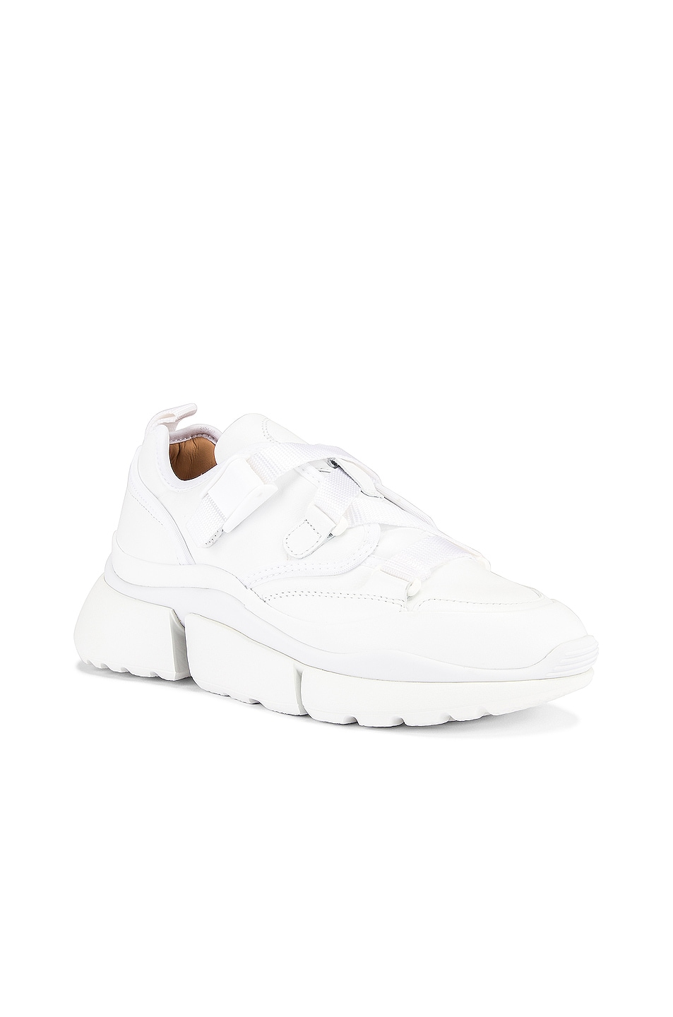 Image 2 of Chloe Sonnie Sneakers in White