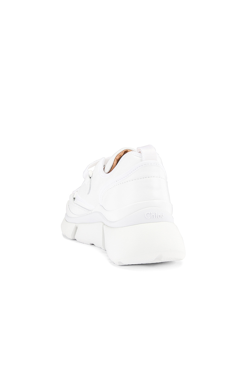 Image 3 of Chloe Sonnie Sneakers in White