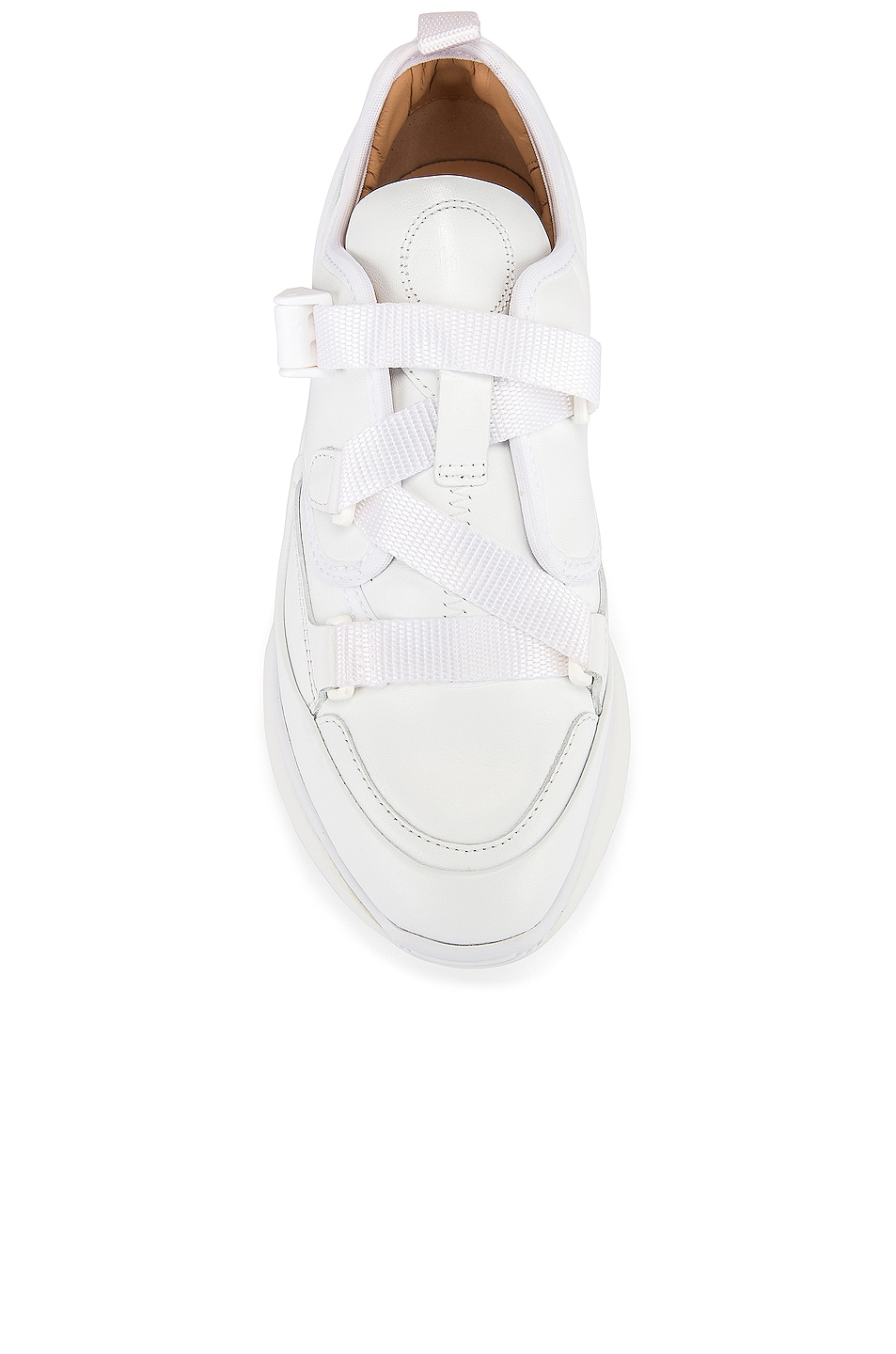 Image 4 of Chloe Sonnie Sneakers in White