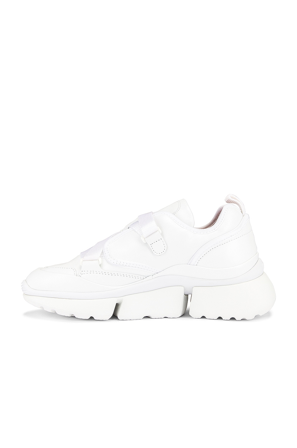 Image 5 of Chloe Sonnie Sneakers in White