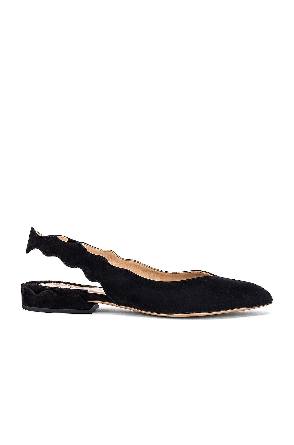 Image 1 of Chloe Laurena Slingback Flats in Black