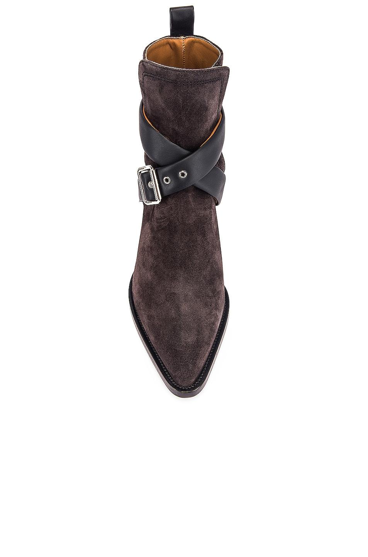 Image 4 of Chloe Rylee Buckle Boots in Black