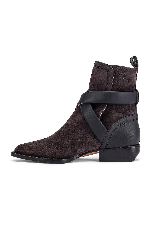 Image 5 of Chloe Rylee Buckle Boots in Black