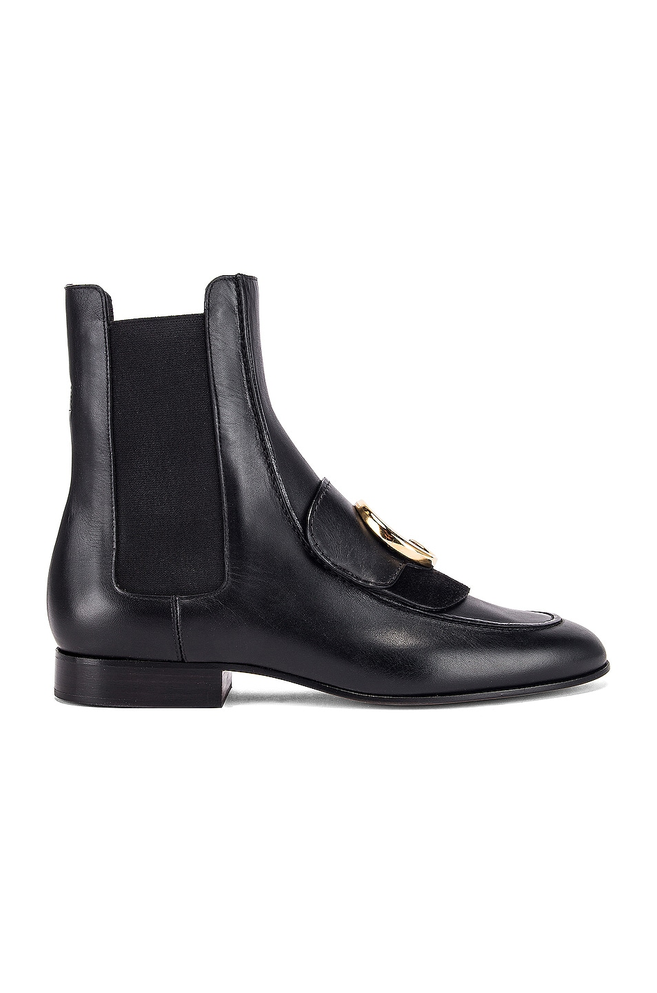 Image 2 of Chloe C Ankle Boots in Black