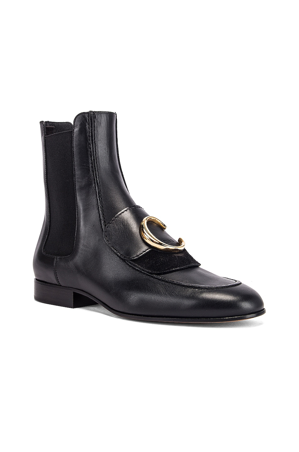 Image 3 of Chloe C Ankle Boots in Black