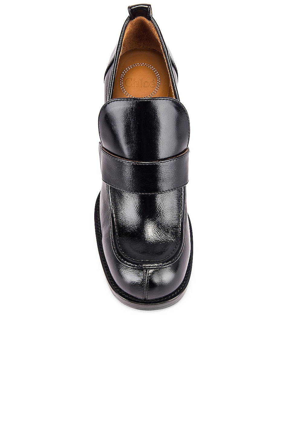 Image 4 of Chloe Adelie Loafers in Black