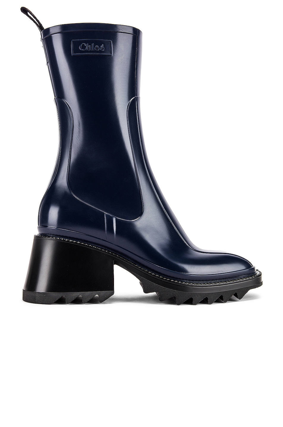 Image 1 of Chloe Betty Boots in Navy Ink