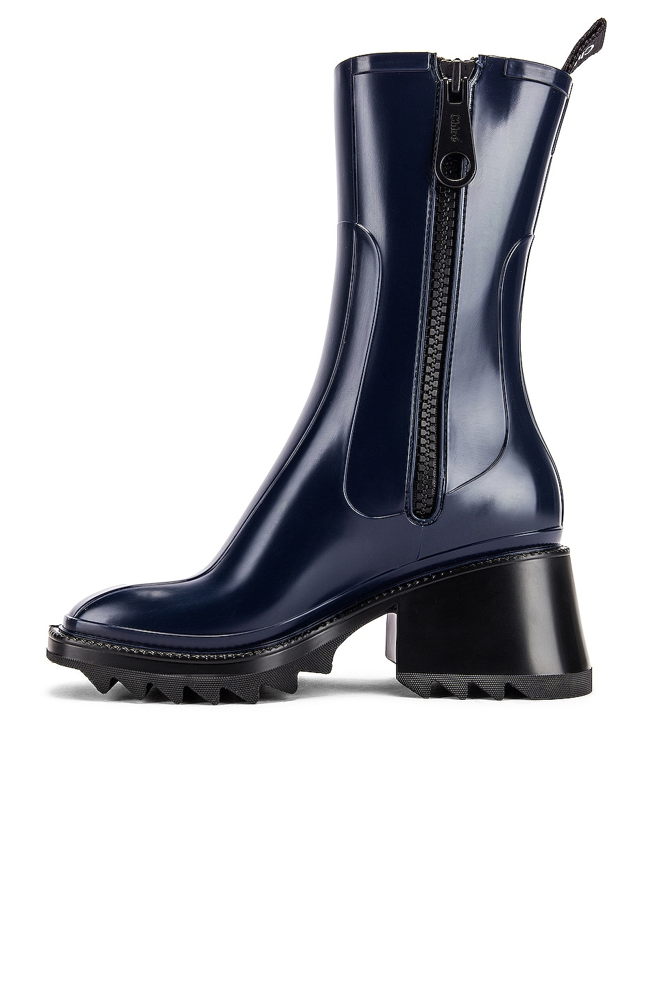 Image 5 of Chloe Betty Boots in Navy Ink