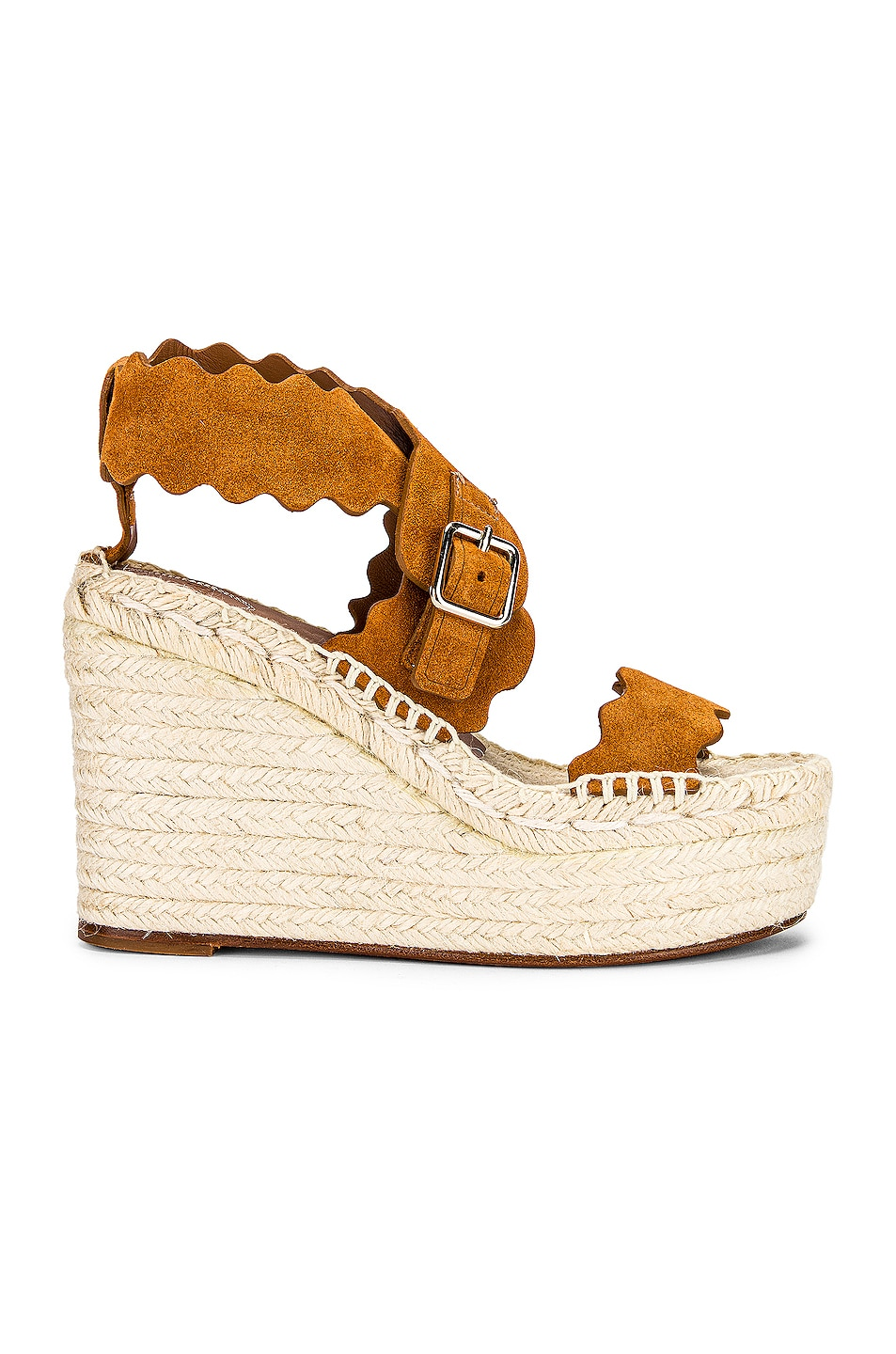Image 1 of Chloe Lauren Espadrilles in Natural Brown