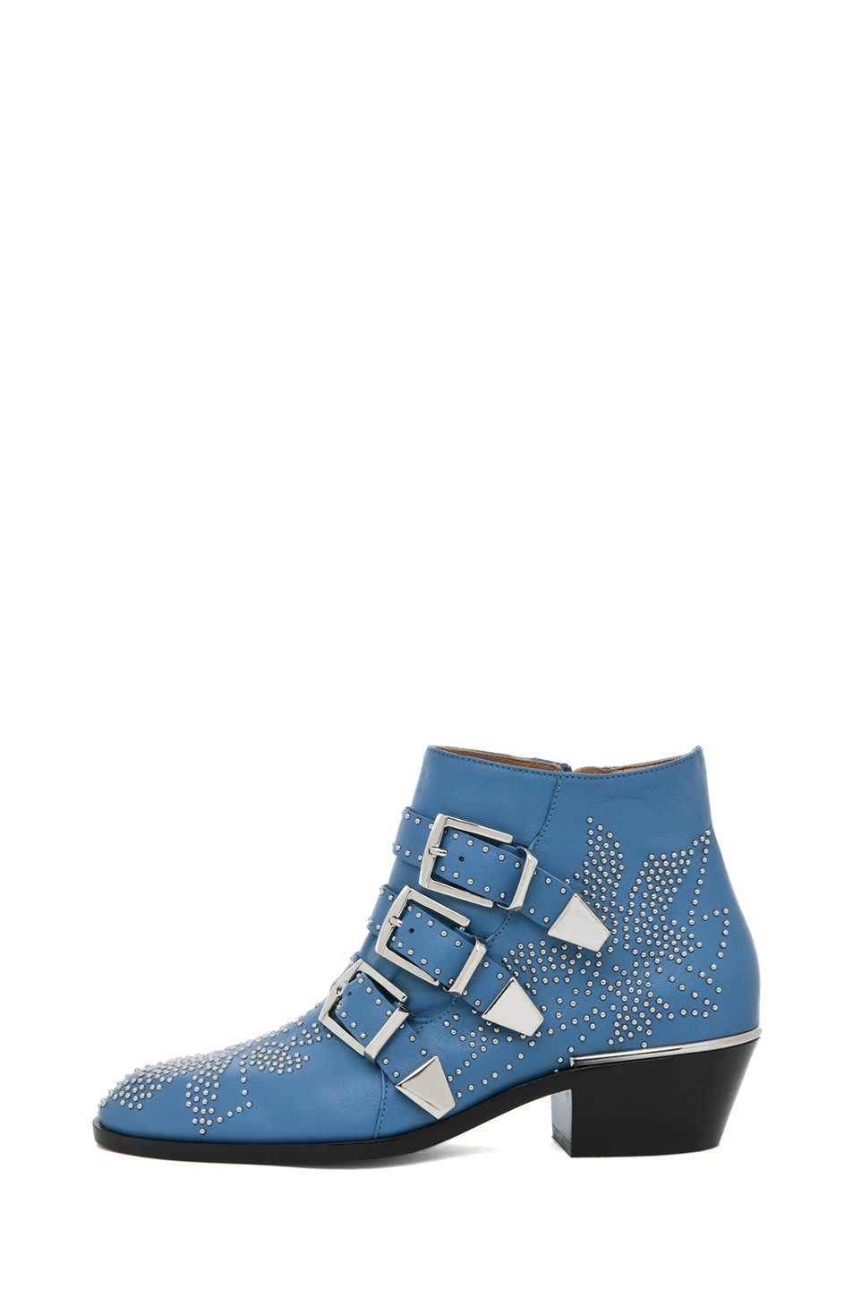 Image 1 of Chloe Susanna Studded Bootie in Blue