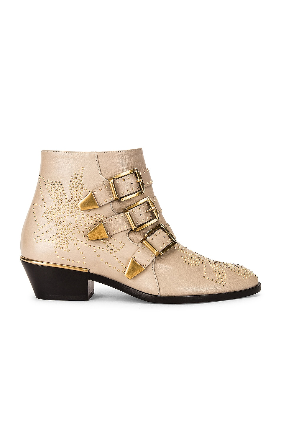 Image 1 of Chloe Susan Short Boots in Nomad Beige