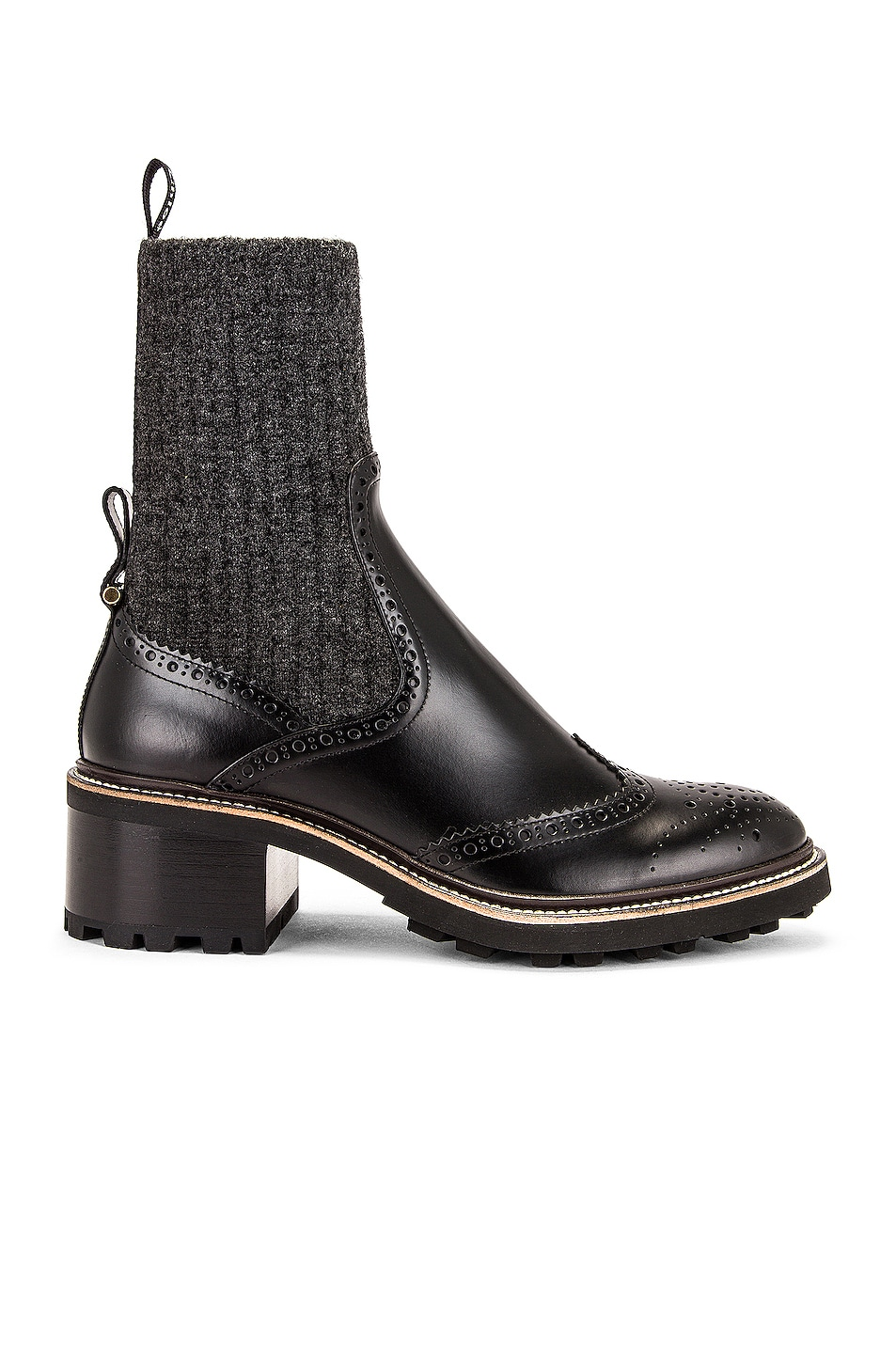 Image 1 of Chloe Franne Ankle Boots in Black
