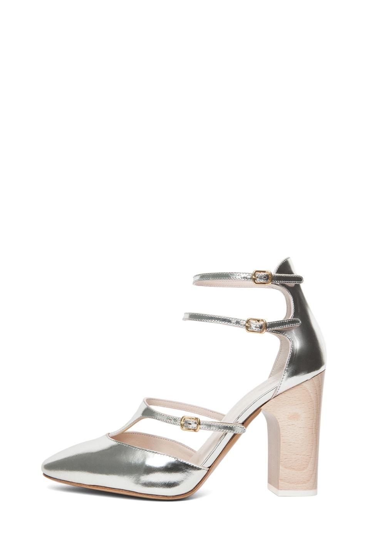 Image 1 of Chloe Runway Heel in Silver
