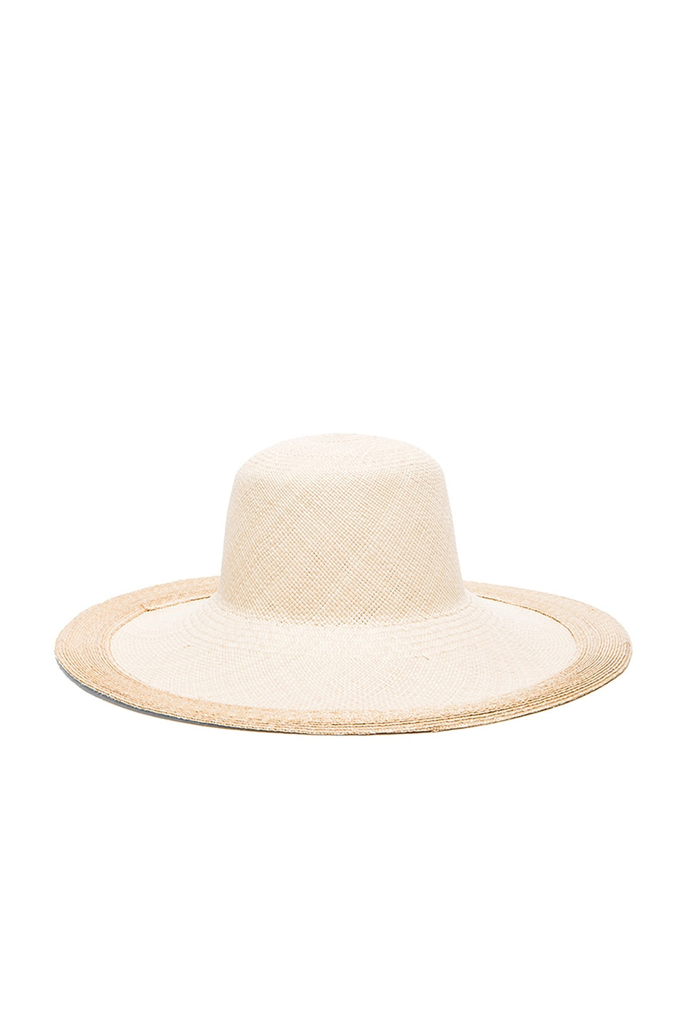 Image 1 of Clyde Colette Hat in Cream & Natural