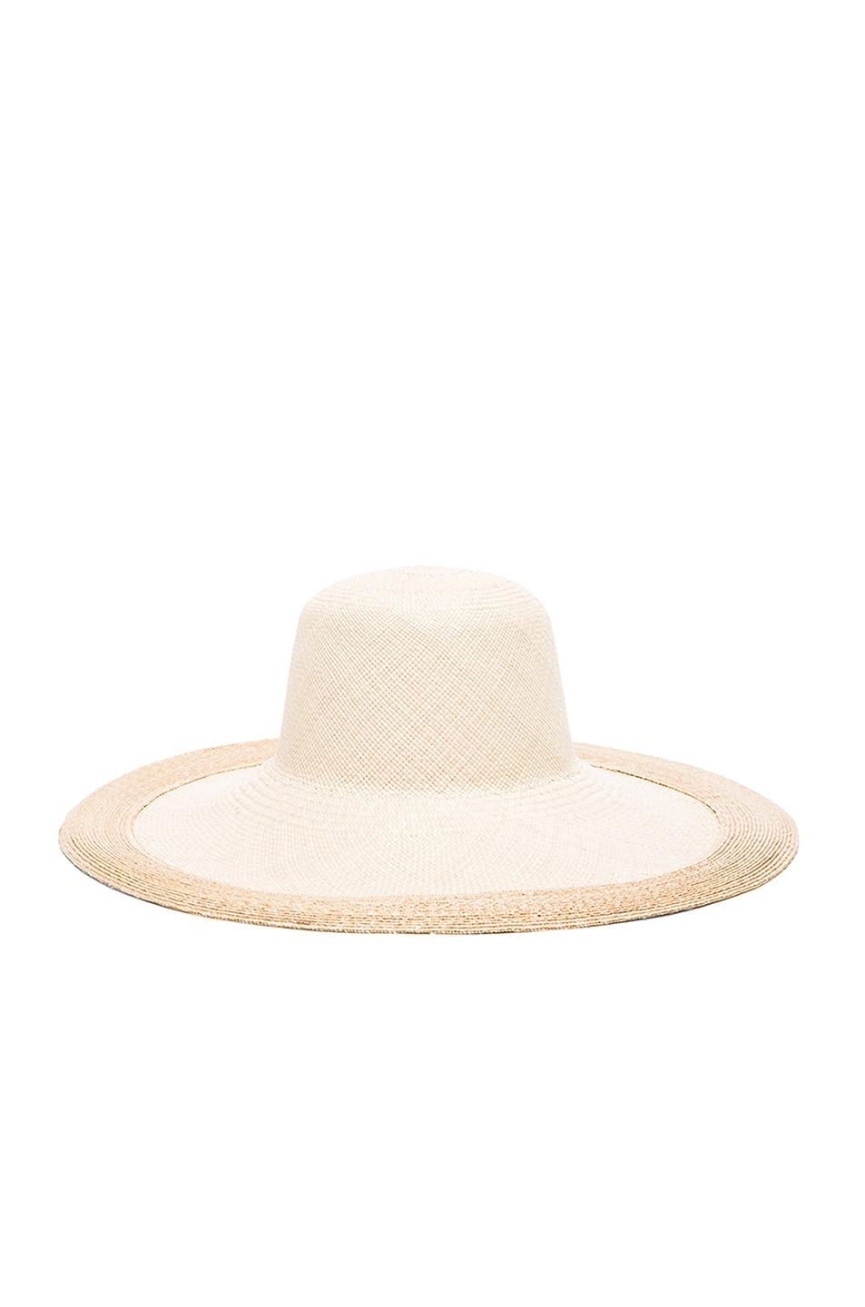 Image 3 of Clyde Colette Hat in Cream & Natural