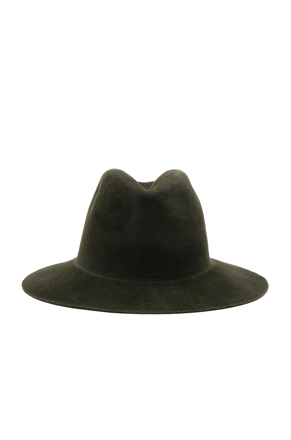 Image 1 of Clyde Pinch Hat in Loden