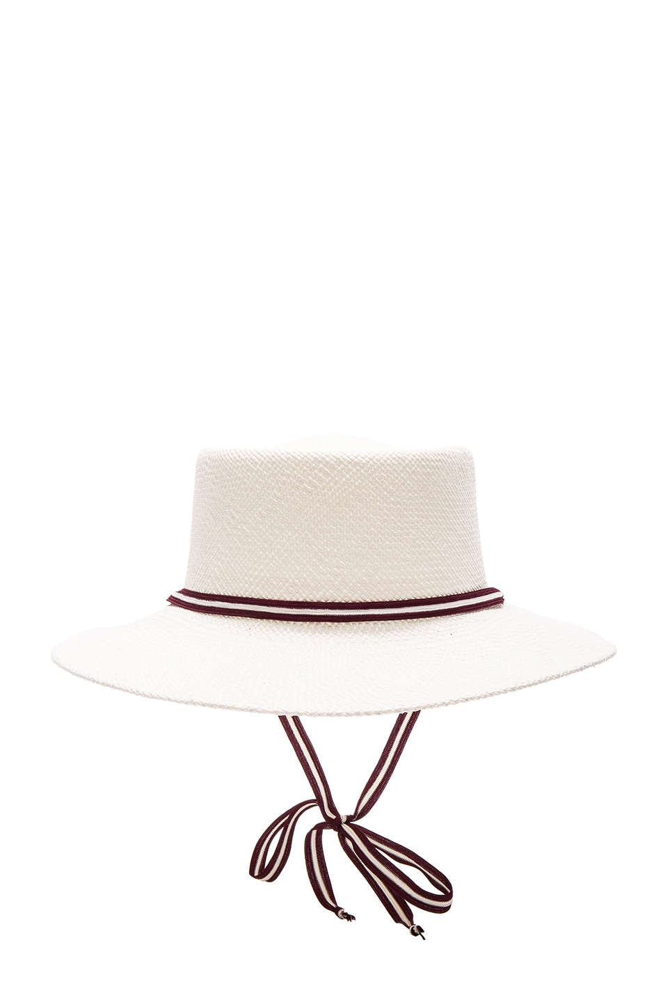 Image 1 of Clyde Telescope Hat in White