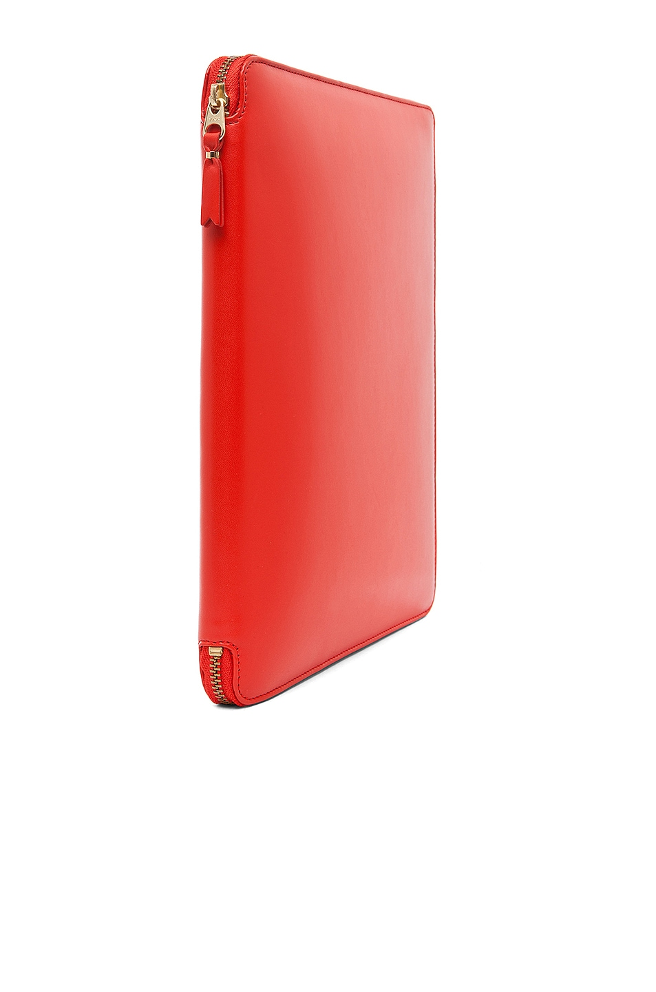 Image 3 of Comme Des Garcons Luxury Leather iPad Case in Orange