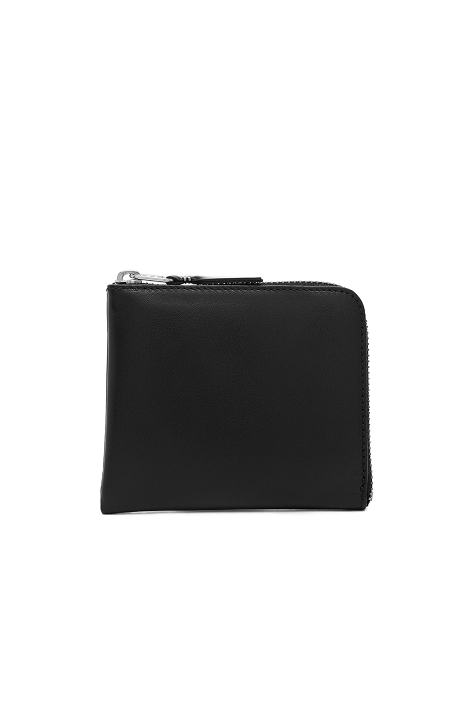 Image 1 of Comme Des Garcons Small Zip Wallet in Black