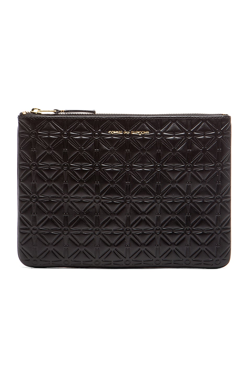 Star Embossed Pouch in Black Comme Des Garçons The Cheapest dqgS91y8iG