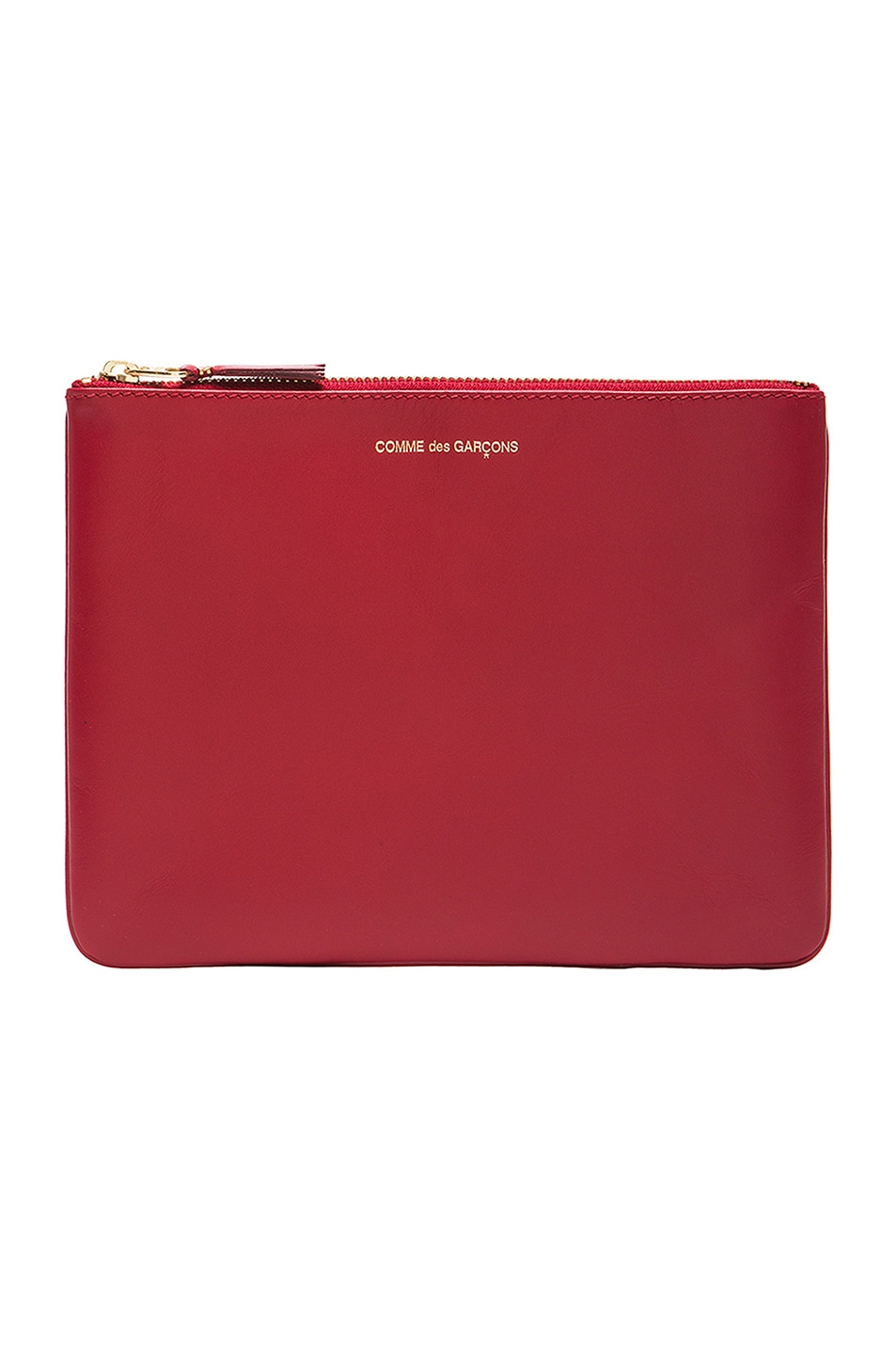 Image 1 of Comme Des Garcons Classic Pouch in Red