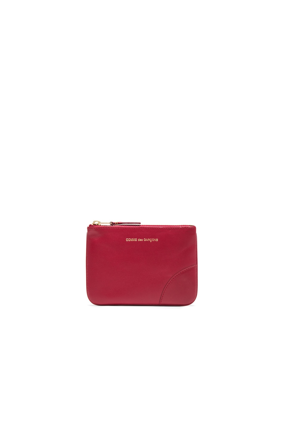Image 1 of Comme Des Garcons Classic Small Pouch in Red
