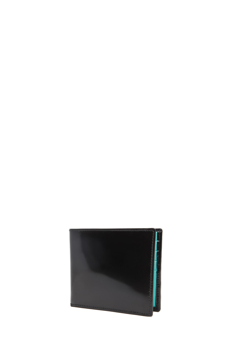 Image 1 of Comme Des Garcons Classic Billfold Wallet in Blue
