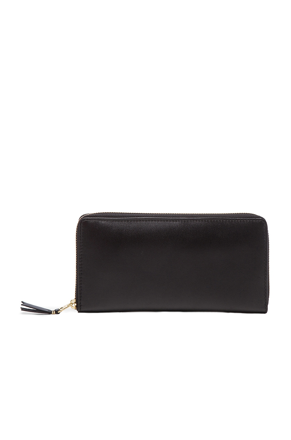 Comme Des Garcons Wallets Black Continental Wallet