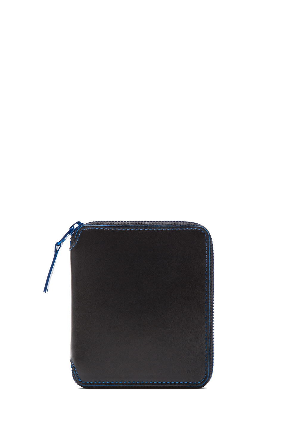 Image 1 of Comme Des Garcons Marvellous Zip Wallet in Blue