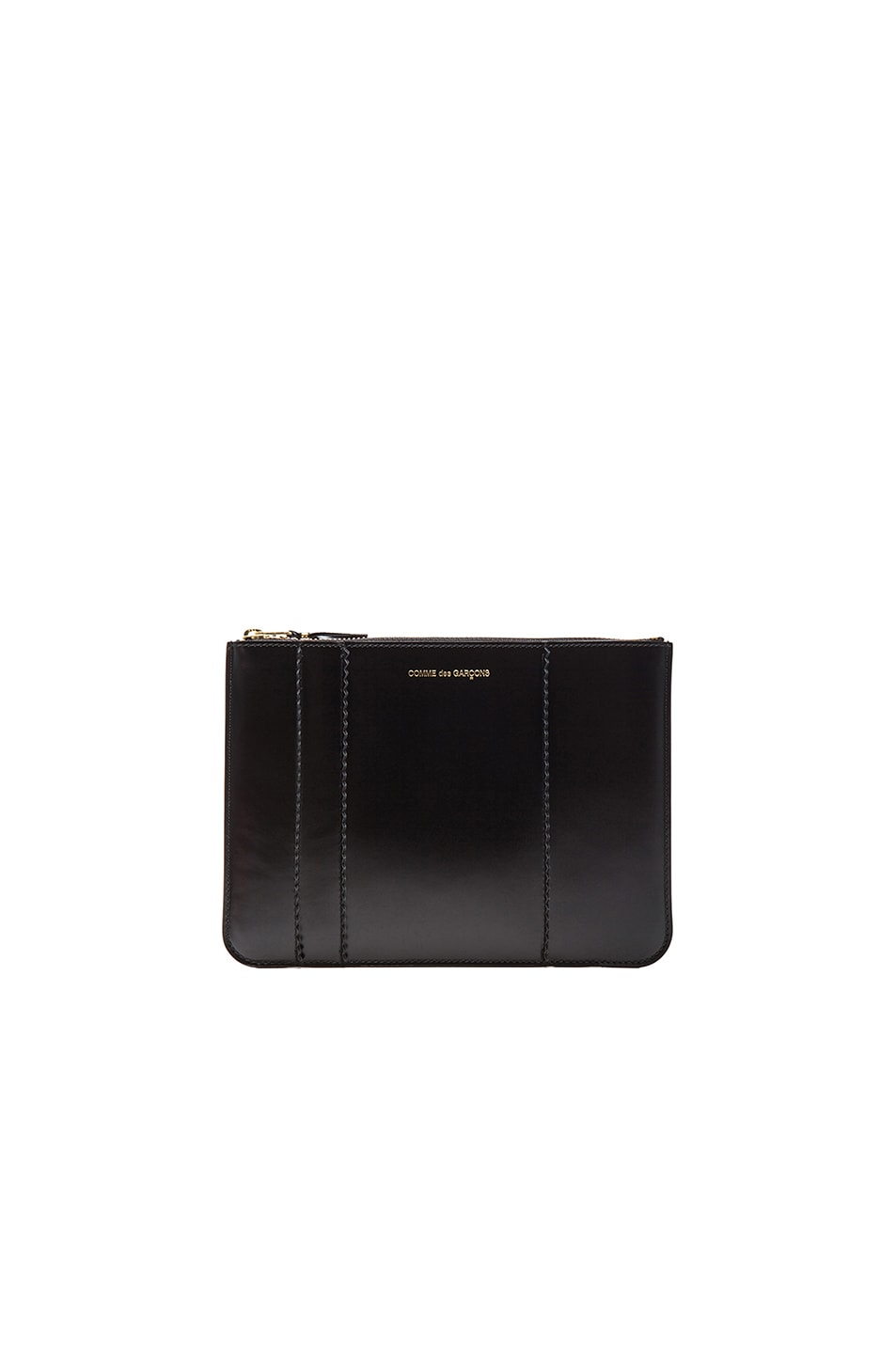 Image 1 of Comme Des Garcons Raised Spike Pouch in Black