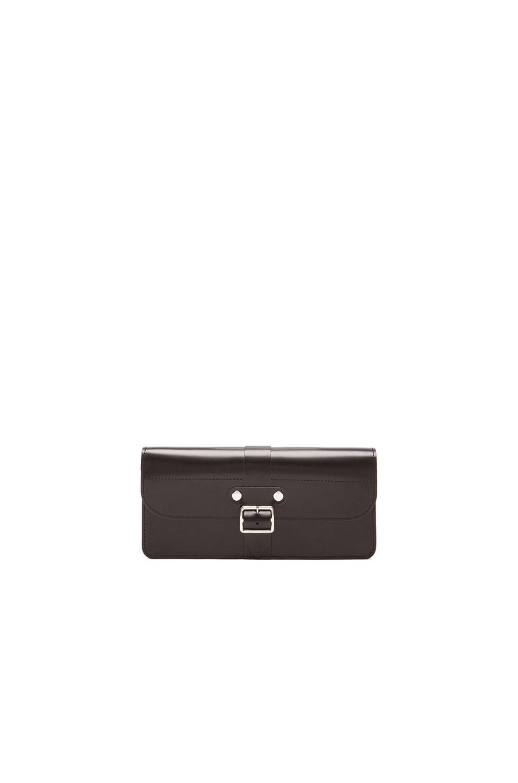 Image 1 of Comme Des Garcons Long 3 Pocket Buckle Wallet in Black