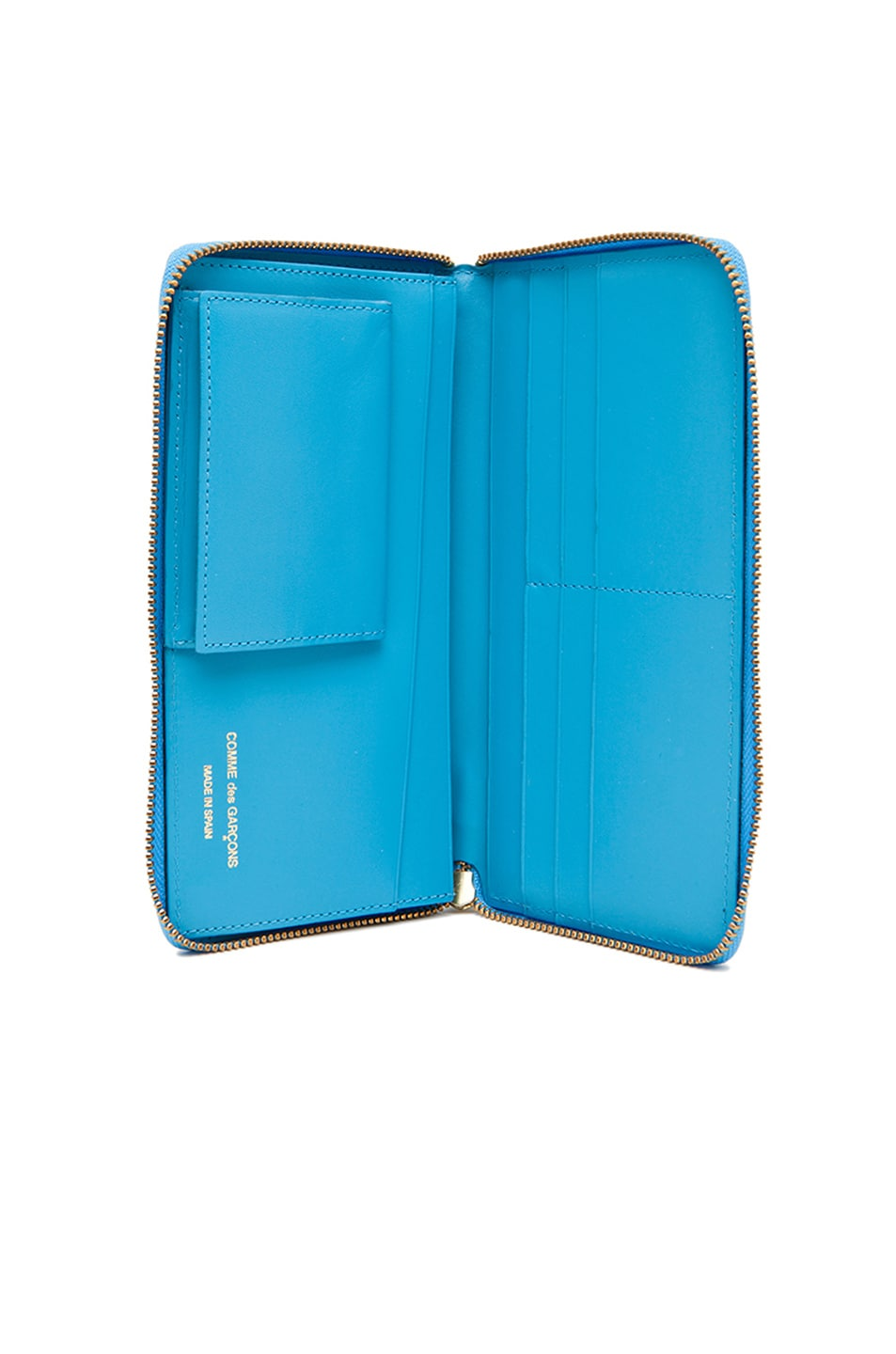 Image 4 of Comme Des Garcons Classic Long Wallet in Blue