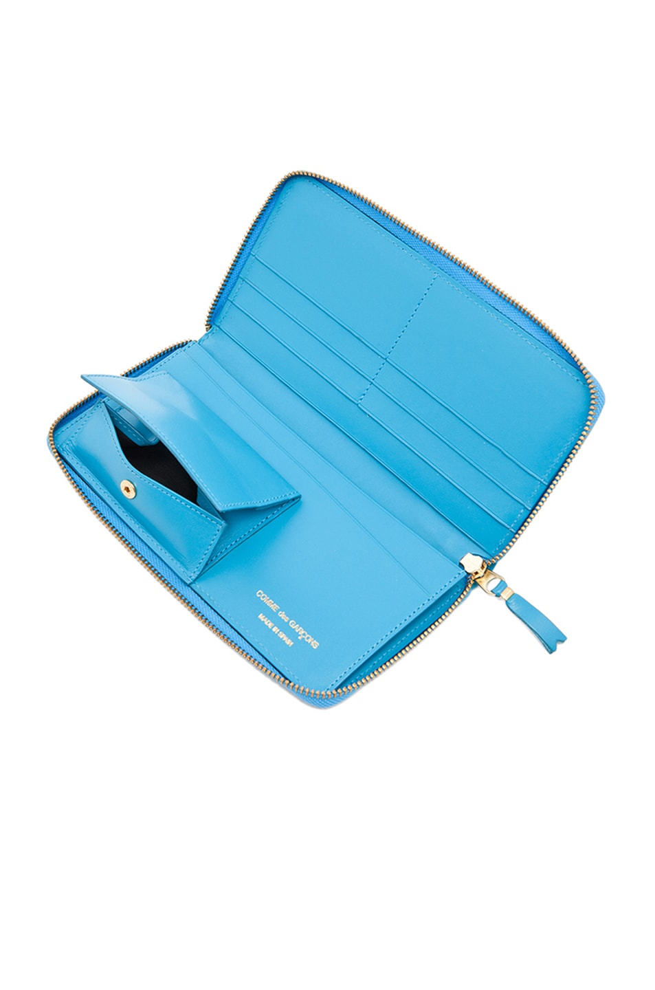 Image 5 of Comme Des Garcons Classic Long Wallet in Blue