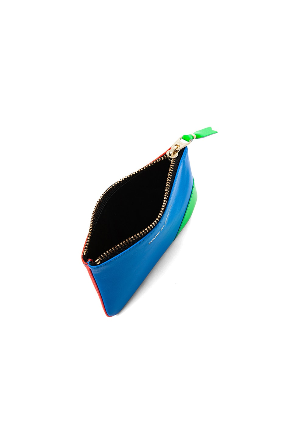 Image 4 of Comme Des Garcons Super Fluo Small Pouch in Orange/Blue