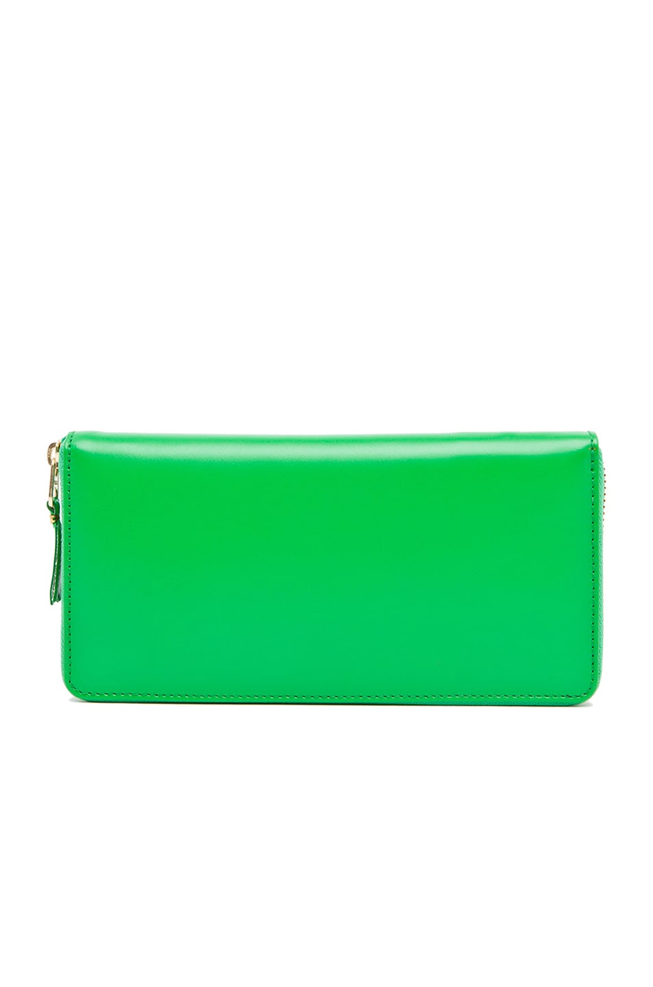 Image 1 of Comme Des Garcons Classic Long Wallet in Green