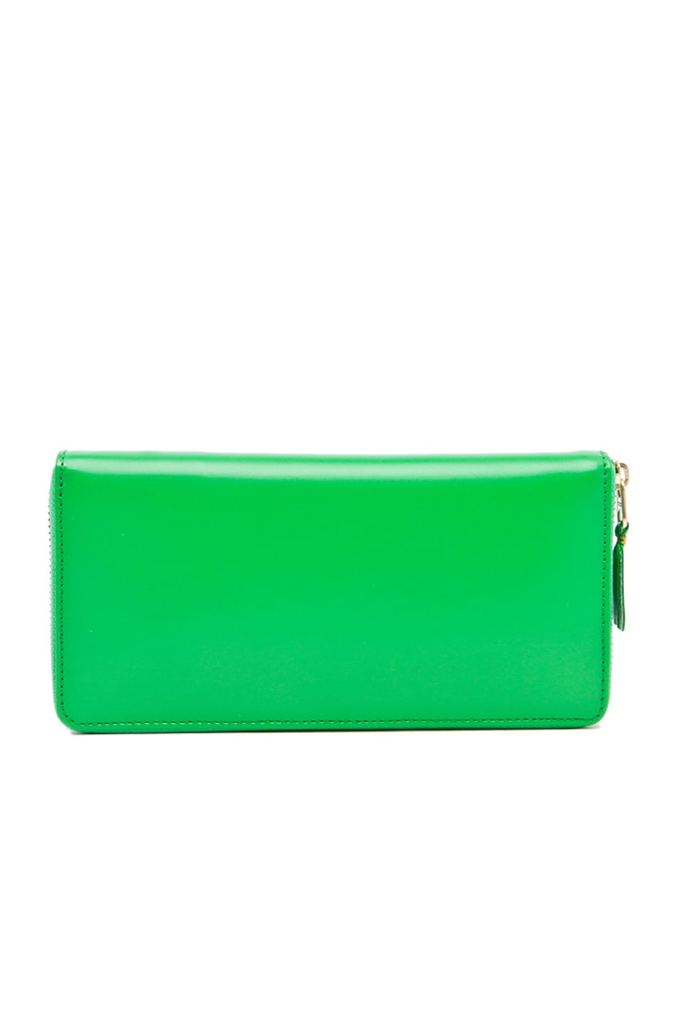 Image 2 of Comme Des Garcons Classic Long Wallet in Green