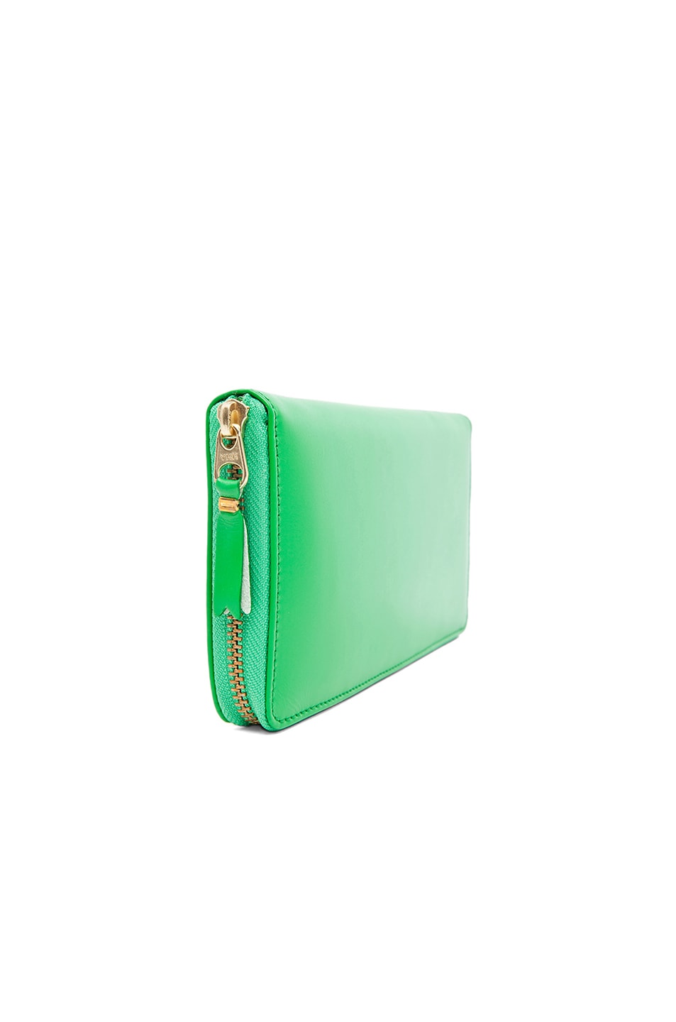 Image 3 of Comme Des Garcons Classic Long Wallet in Green