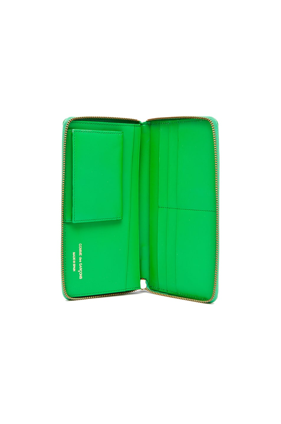 Image 4 of Comme Des Garcons Classic Long Wallet in Green