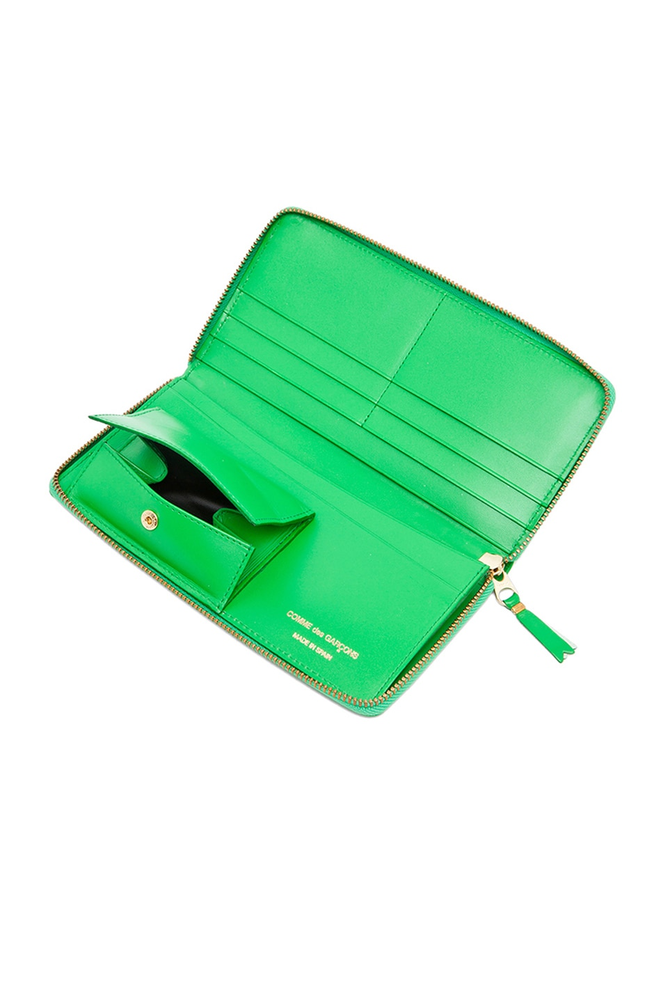 Image 5 of Comme Des Garcons Classic Long Wallet in Green