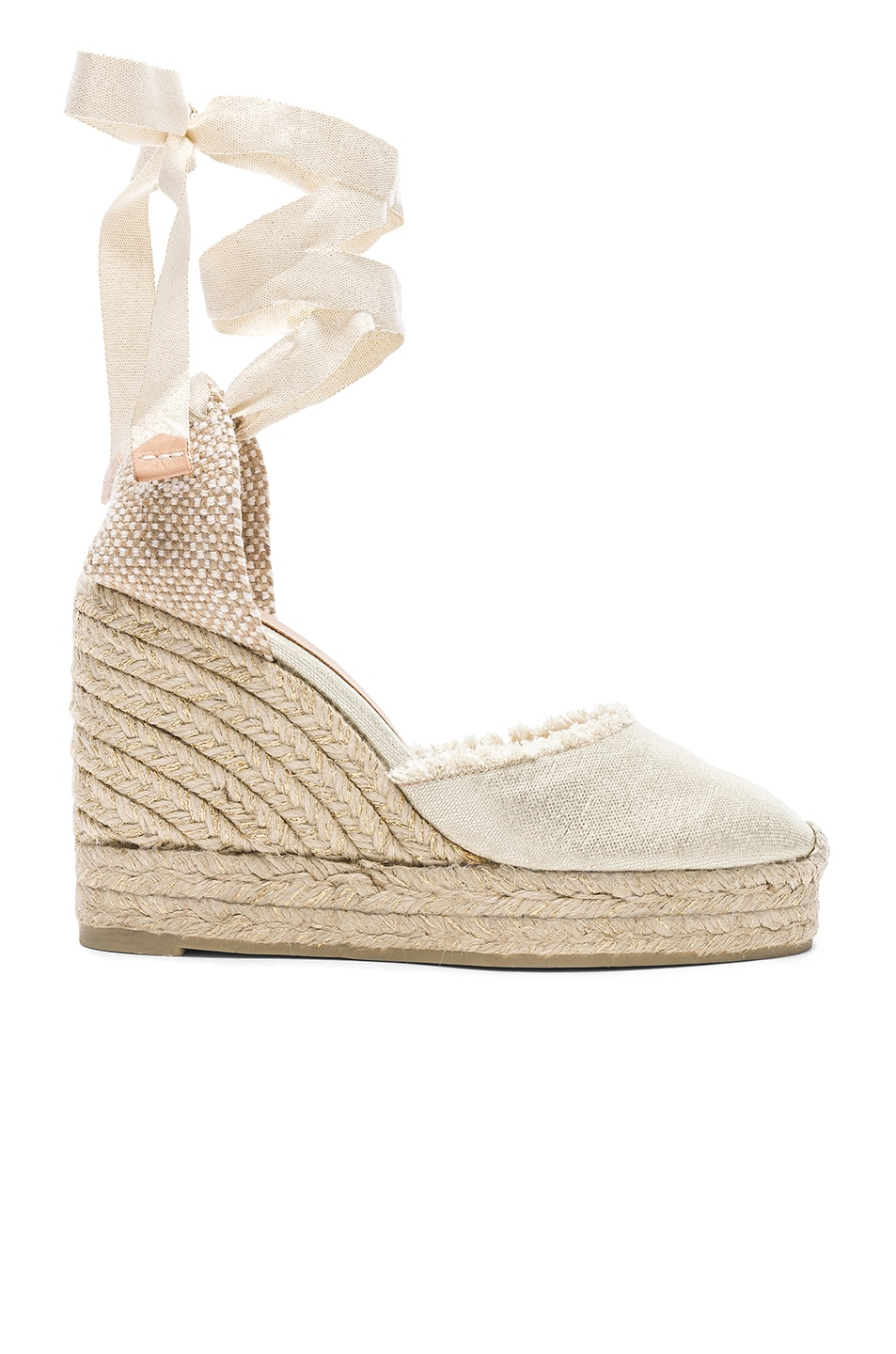 Image 1 of Castaner Canvas Canela Espadrilles in White