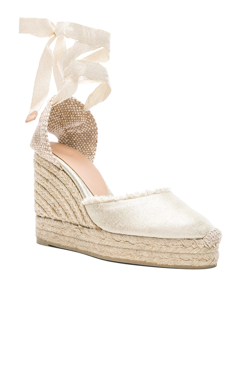 Image 2 of Castaner Canvas Canela Espadrilles in White