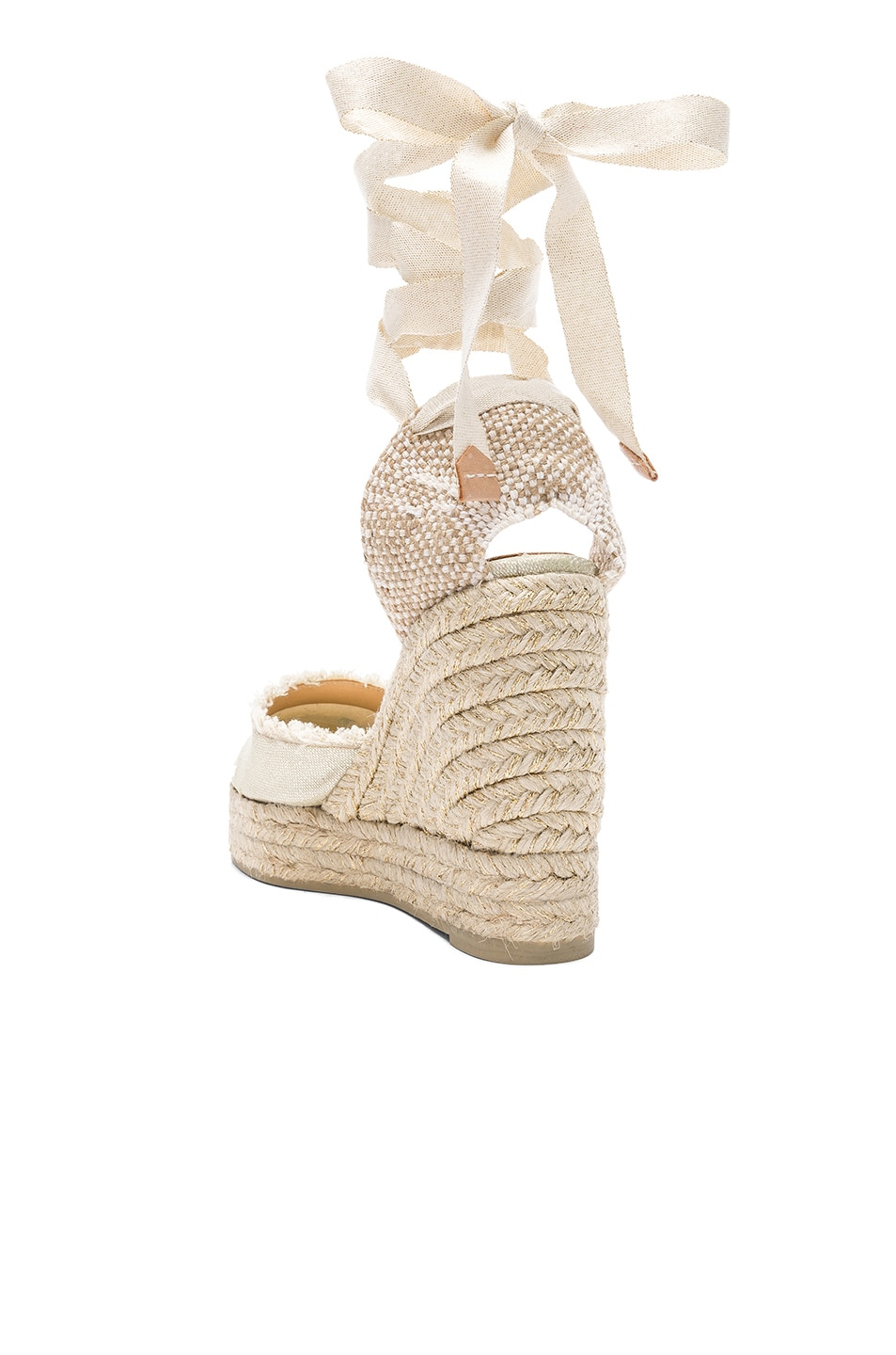 Image 3 of Castaner Canvas Canela Espadrilles in White